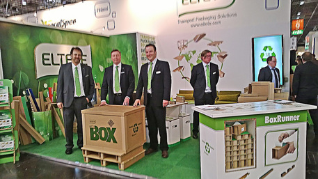 Eltete en la fiera del packagig Interpack 2014
